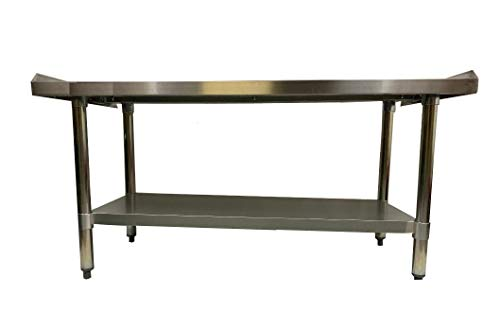 (Stainless Steel Grill Equipment Stand 24 X 48 - NSF - Heavy Duty)