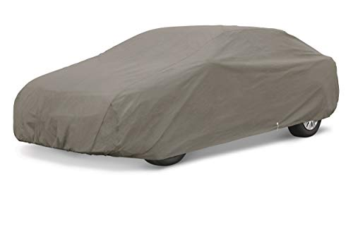 - AmazonBasics Car Weather Cover, Large Sedan