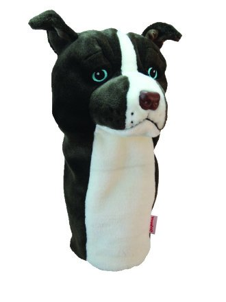 Amazon.com: Oversized Golf de Pitbull Head Cover: Sports ...