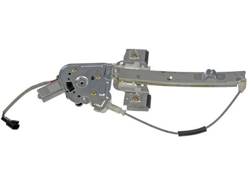 Aftermarket Replacement Replacement Window Regulator With Motor (Rear Driver Side)