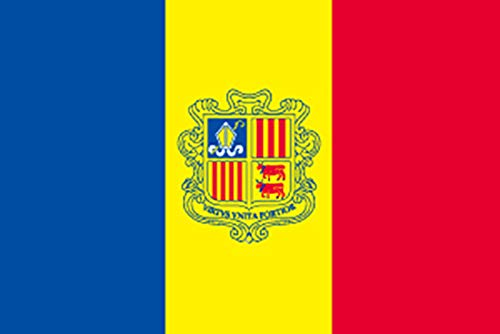 国旗 アンドラ No.2 No.22852(取寄商品)   B01J1NQXOI