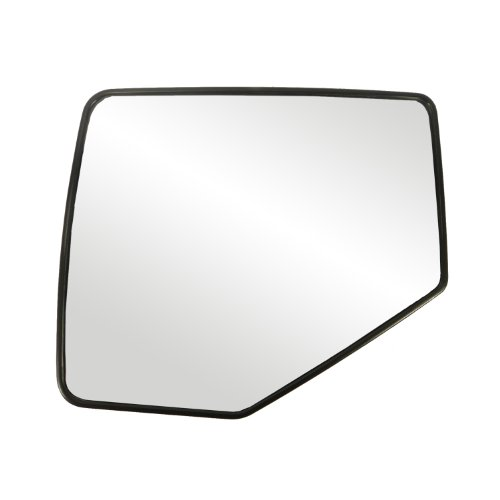 Fit System 88209 Ford/Mercury Left Side Manual/Power Replacement Mirror Glass with Backing ()