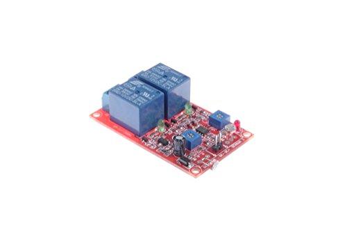 KNACRO SRD-12VDC-SL-A DC 12V Relay Module Photodiode 2 Channel Module Combined Photosensitive Sensor Module Light Detection