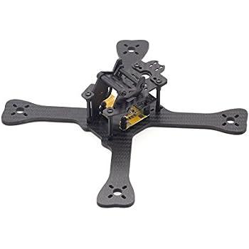 Usmile 210mm 4mm thickness X frame Carbon Fiber Quadcopter Frame Kit Mini quad fpv quad quadcopter like GEP210 TX5 X210 QAV-X 210 QAV-R 250 with Adjustable Gopro camera mount