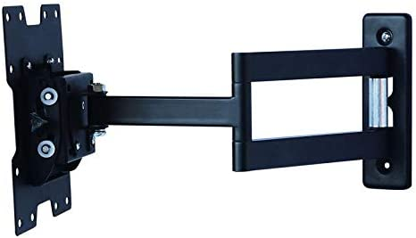 MONIFOX Soporte de Pared para TV/Monitor de un Brazo Extensible de 7,8 cm a 45,8 cm orientable inclinable 12° girable 2 x 180° para LG 50