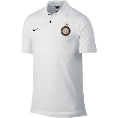 2013-14 Inter Milan Nike Authentic GS Polo Shirt (White)