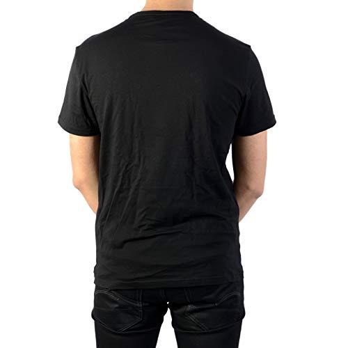 Manica Nero Armani Pezzi 2 Mezza Emporio Girocollo shirt T Uomo grigio Da gvfwFzqA