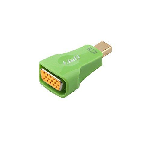 Plated DisplayPort Thunderbolt Adapter Converter