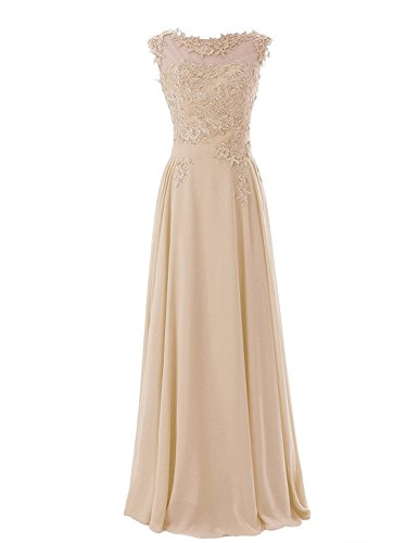 Champagne Evening Gowns - 4