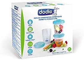 Dodie/ /6/botes de conserva para comida 200/ml