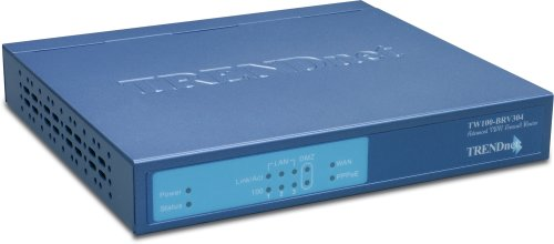 TRENDnet 4-Port Advanced VPN Firewall Router TW100-BRV304 (Trendnet Vpn Router)