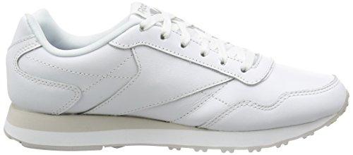 ReebokBS7990, Scarpe da Ginnastica Basse Uomo Bianco (White/Steel)
