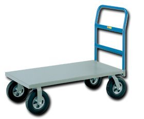 Little Giant Products - Div. O, Cushion Load Platform Truck With Puncture Proof Casters, Clpt-Lg-3060, Cap. (Lbs.): 1500, Deck Size: 30 X 60