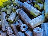 国産伊予、切小丸状オガ備長炭、10㎏x6---60㎏、1送料、国産煙少なく、香り良い、室内仕様 B00RB9UHJM