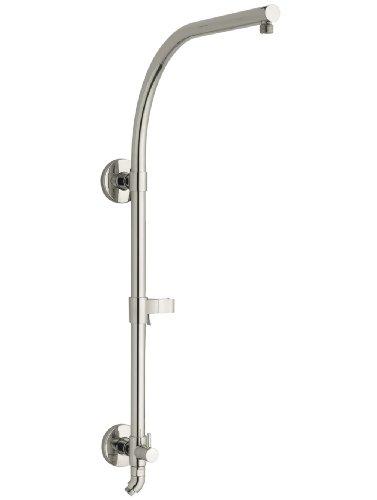 KOHLER K-45211-SN Hydrorail-R Arch Shower Column, Vibrant Polished Nickel Bathroom Shower Shower Column