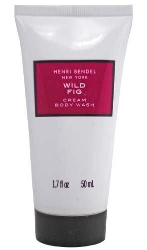 Bath & Body Works Henri Bendel New York Wild Fig Cream Body Wash 1.7 fl oz Travel Size (Fig Henri Wild Bendel)