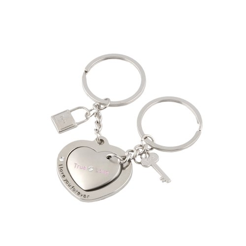 Leegoal Keychain Keyring Couples Lovers