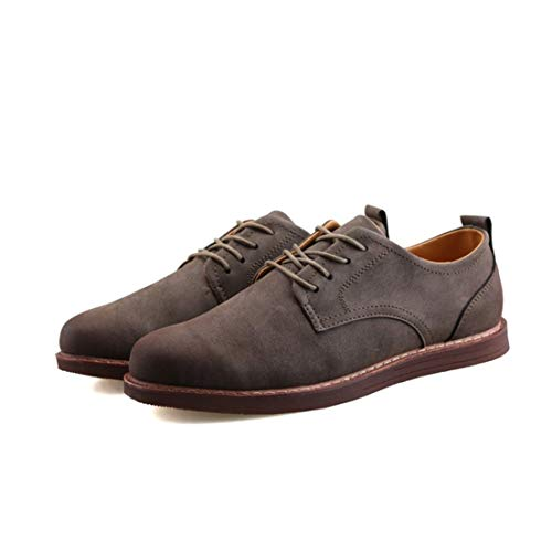 Style 41 Pour De En Caoutchouc Gris Mode Chaussures Course Hommes À Antidérapante Cuir Semelle Tout La Delicacydex Assorti Anglais qA1XzxwxU