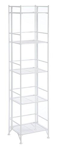 Metal Tier (Convenience Concepts Designs2Go X-Tra Storage 5-Tier Folding Metal Shelf,)