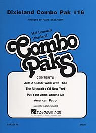 Dixieland Combo Pak #16 Book and Cassette Package (Dixieland Sheet Music)