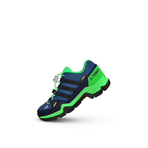 Adidas Terrex Gtx K, Chaussures de Randonnée Mixte Enfant, Bleu (Azubas/Negbas/Verene), 38 EU
