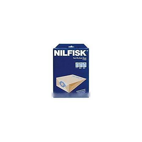 Nilfisk Advance - Bolsas para aspiradora GM80, 10 unidades ...
