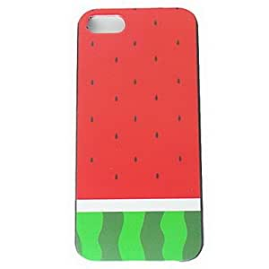 GJYRed Watermelon Pattern Hard Cases for iPhone 5/5S