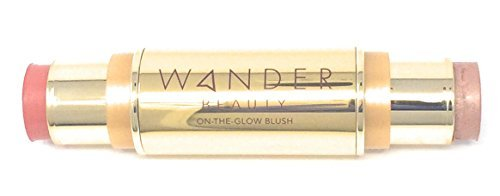 Wander Beauty On-the-Glow Blush & Illuminator - Coral Rose/Nude Glow by Wander Beauty