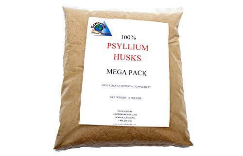 Psyllium Husk Powder-- 10 Pound Mega Bag