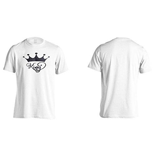 König Schwarz Herren T-Shirt k978m