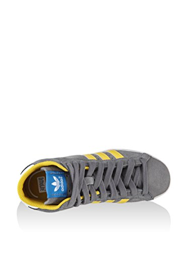 adidas Profi Originals Grey Yellow Basket Unisex K Trainers 6 Child WFSFaHxn