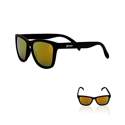 Goodr RUNNING SUNGLASSES - (Black w/ Amber Lens)