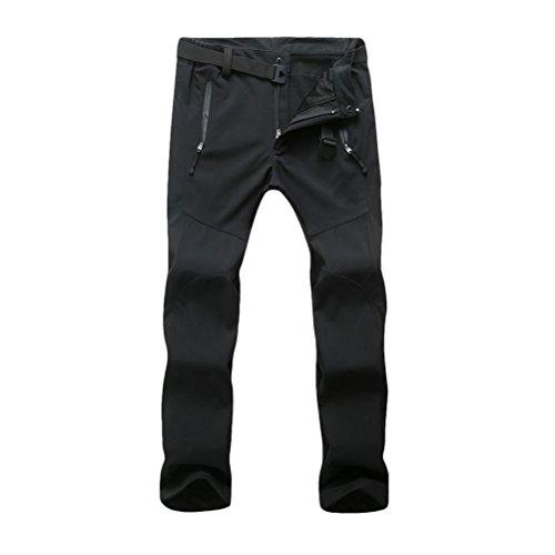 Zhuhaitf Multi-color Premium Women's Fleece Soft Shell Riding Skiing Hiking Pants for Outdoor 3193 Black