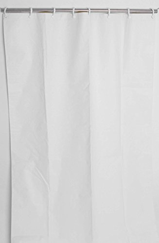 Csi Bathware Cur80x74nh 80 X 74 Heavy Duty Commercial Shower Curtain Antistatic Staph