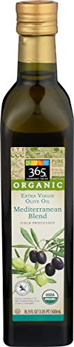 365 Everyday Value, Organic Extra Virgin Olive Oil 100% Mediterranean Blend, 16.9 fl oz