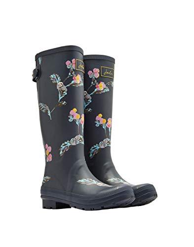 grey Donna Di Grigio Floral Stivali Gryswanfl Print Gomma Welly Joules  Swanton w0qFRXBw 717e770686e