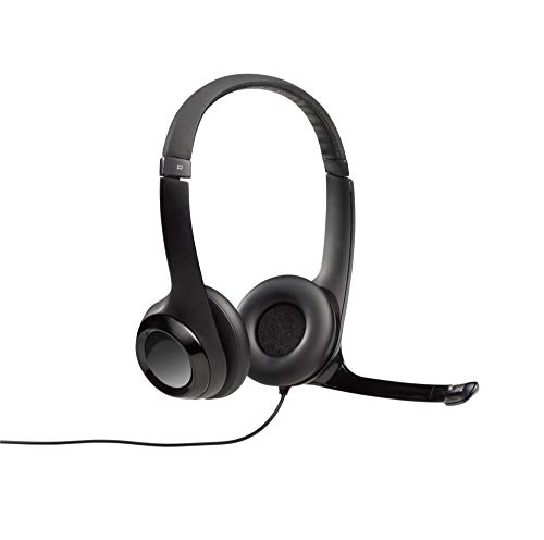 Logitech Wired USB Headset with Microphone for Educational Use (5 pk) - Black