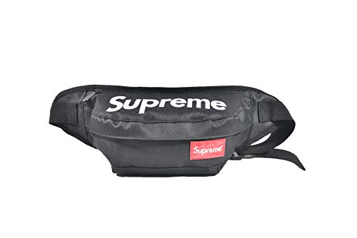 The Mass Supreme Fanny Pack,Supreme Bag (Black) from The Mass