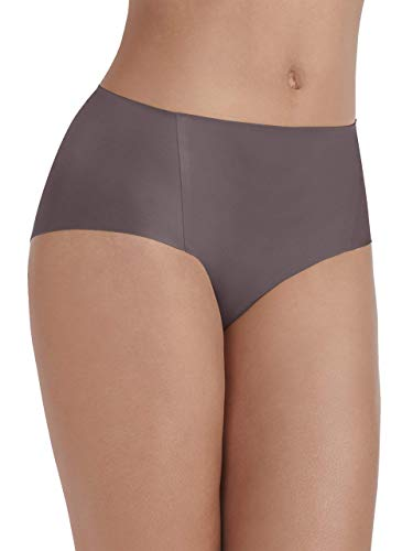 (Vanity Fair Women's Underwear Nearly Invisible Panty, Deep Mauve, Large/7)