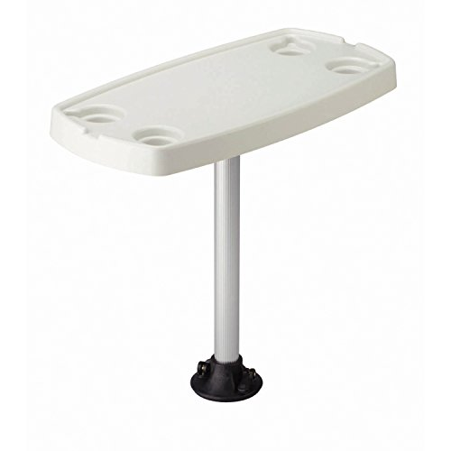 Garelick/Eez-In 75321-21:01 Quick-Release Table Pedestal System with Rectangular Top and Adapter Socket