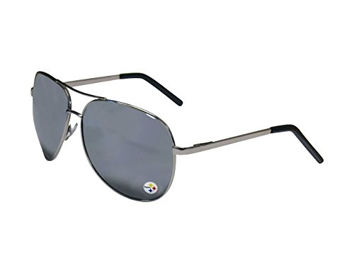 Siskiyou NFL Pittsburgh Steelers Aviator Sunglasses