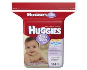 Huggies One & Done Baby Wipes