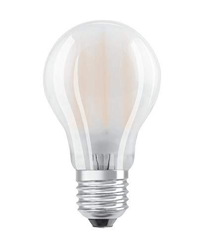 OSRAM LED Retrofit CLASSIC A Mirror Bombilla LED , Casquillo E27 , 2700 K , 6,50 W , Equivalente a 50W , Blanco cálido