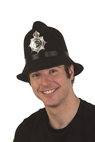28272 Bobby Hat English Police 7 5/8 60-61cm ()