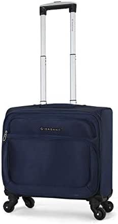Giordano Pilotbag Luggage, 4 Wheel Trolley, Navy - 161978, Unisex
