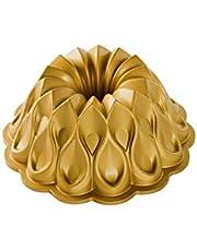 Nordic Ware 91777 Crown Bundt Pan, One Size, Gold