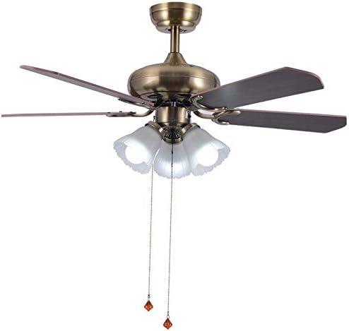 Lámpara de techo con mando a distancia para ventilador de ...