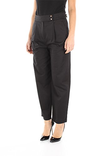 1655HS1PA11599K01 Kenzo Pantalones Mujer Algodón Negro Negro