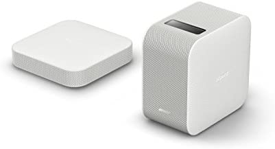 Sony LSPX-P1 720p HD Ready Ultra Short Throw Portable Projector, SRXD Laser  Technology, Battery Powered-White