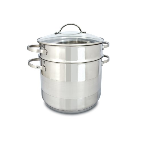 Cuisinox POT-C24-PASTA Gourmet Covered Pasta Pot Set, 7.5-Liter by Cuisinox